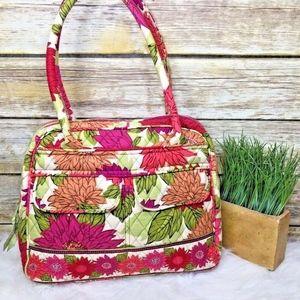 Vera Bradley Hello Dahlia Floral Print Tote Bag